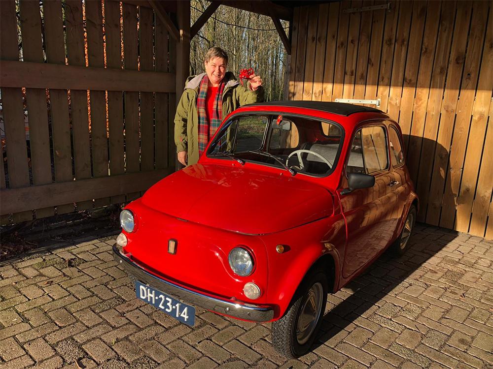 FIAT 500 Beke Hendriksma Boazem